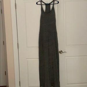 Gray maxi C&C California maxi dress